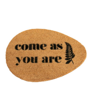 Come As You Are Pebble Doormat